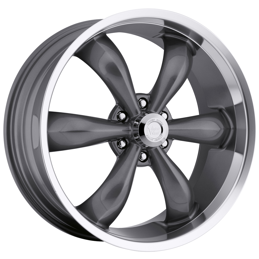 "20"" Inch Vision 142 Legend 6 20x9 6x139.7 (6x5.5"") +20mm Gunmetal Wheel Rim"