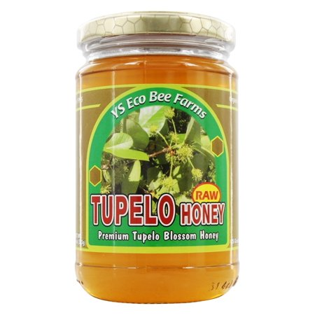 YS Organic Bee Farms - Raw Tupelo Honey - 13 oz. (Ys Eco Bee Farms Organic Raw Honey)