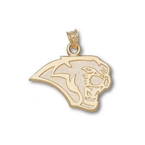 NCAA - Houston Cougars 10K Gold Cougar Head 5/8'' Pendant