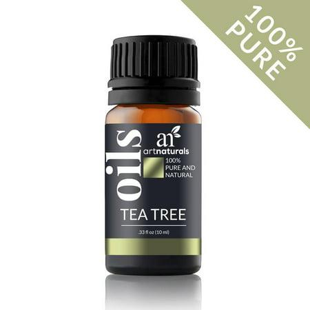 Tea Tree Oil 10mL-100% Pure Natural Therapeutic Grade Essential Oil Travel