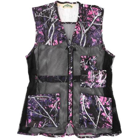 Bob Allen® Muddy Girl Ladies M/L Full Mesh Shooting Vest Pack thumbnail