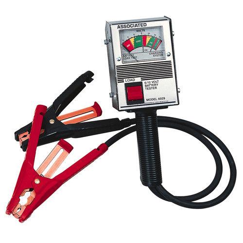 Associated Equipment 6029 Durable Handheld Alternator & Battery Tester by Associated