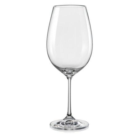 Red Vanilla Vanilla Viola Red Wine Glasses - Set of 6