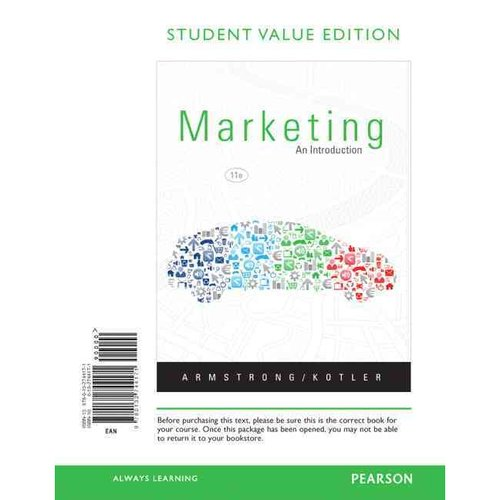 Marketing: An Introduction, Student Value Edition
