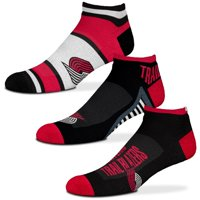 Portland Trail Blazers For Bare Feet Three-Pack Show Me The Money Ankle Socks