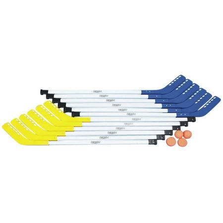 S Worldwide Spectrum Elementary School Tough Floor Hockey Set, 36