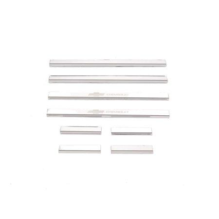 Putco 95172GM1 Cargo Door Sill Protector Set (3500 Putco Door)