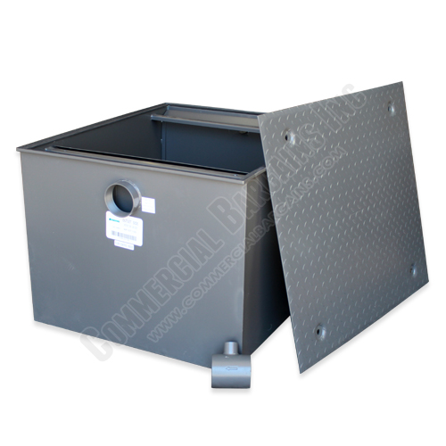 WentWorth 200 Pound Grease Trap Interceptor 100 GPM Gallons Per Minute WP-GT-100