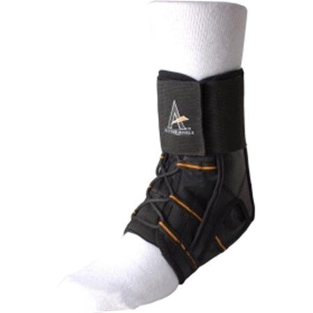 Cramer CRM236XLG Active Ankle Power Lacer Brace, Black - Extra Large