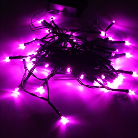 Waterproof 17ft 50 Led Solar String Fairy Lights Night