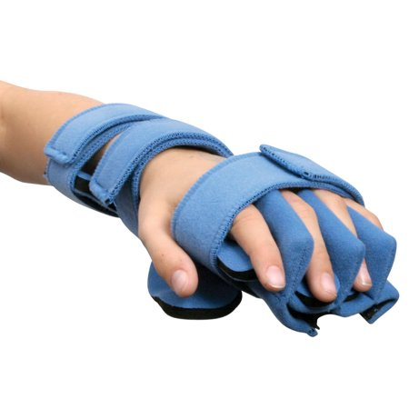 Comfyprene Hand/Wrist Separate Finger Orthosis, Adult, Left, Light Blue