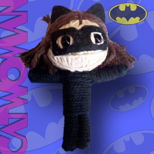 Cavewoman Outfits (Cell Phone Charm - DC Comic - Batman Catwoman New String Doll)
