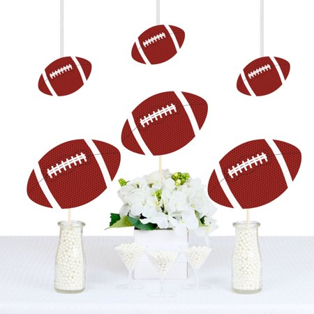End Zone - Football - Decorations DIY Baby Shower or Birthday Party Essentials - Set of 20](Football Birthday)