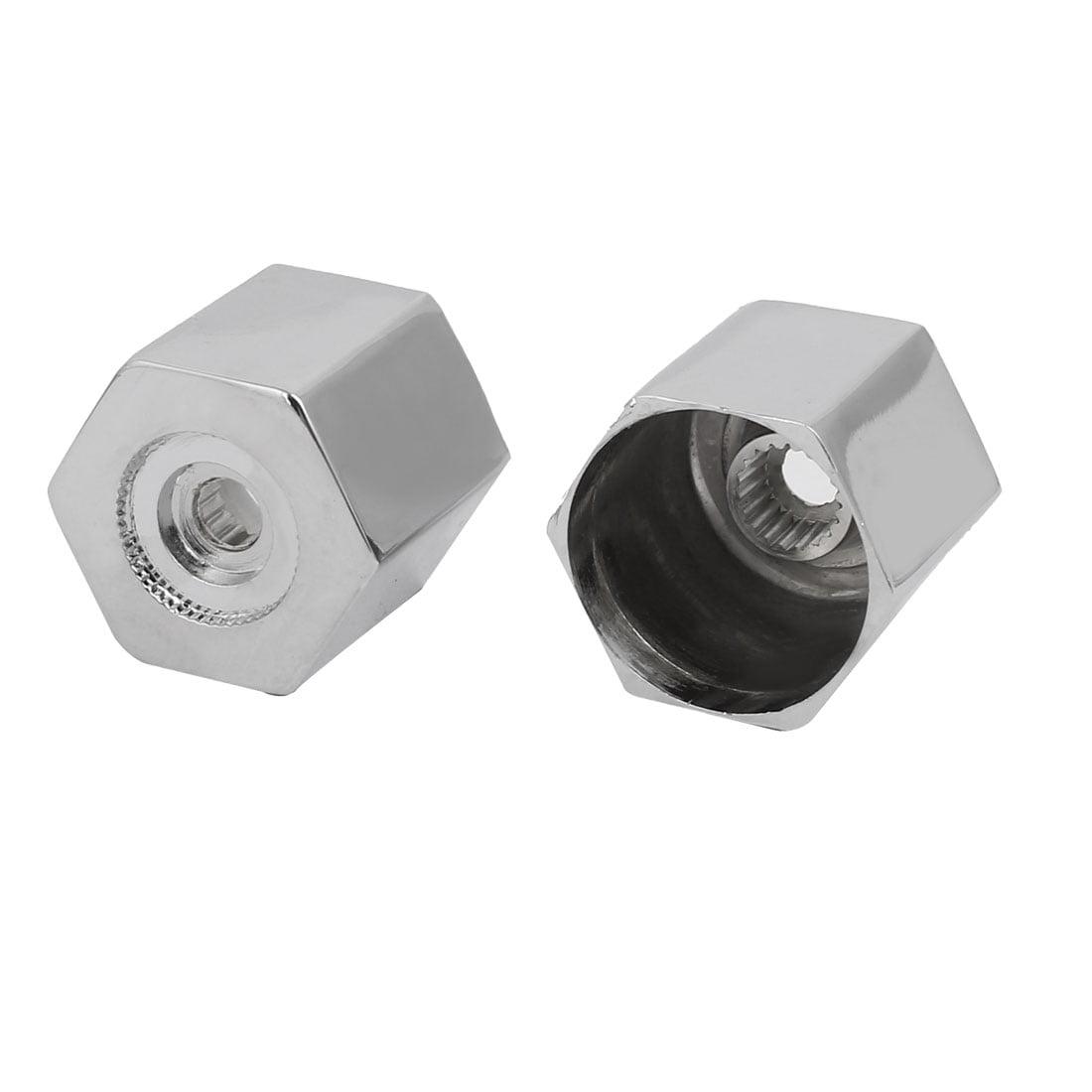 7 Colors LED Light Water Glow Faucet Tap Faucet Diverter Valve Adapter WM