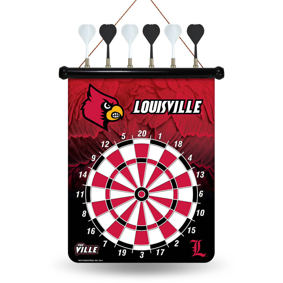 Rico NCAA Magnetic Dart Set, University of Louisville Cardinals