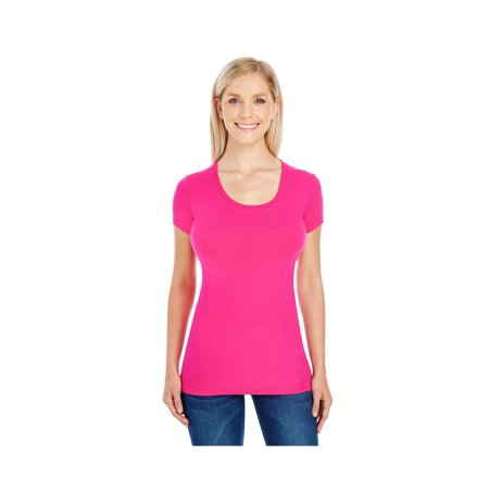 Threadfast Apparel Women's Short-Sleeve Scoop T-Shirt, Style