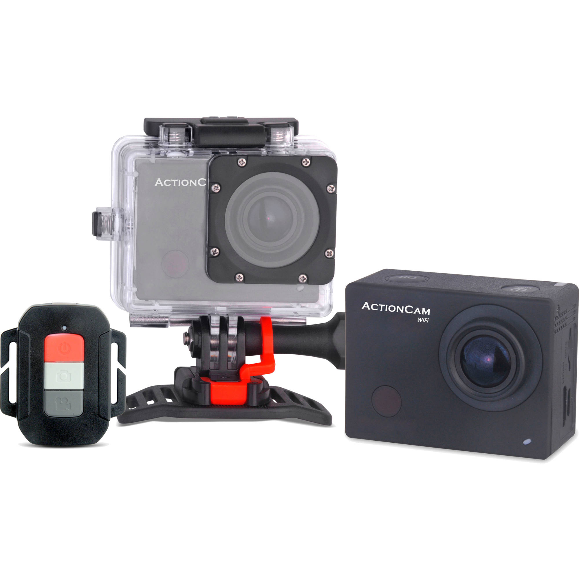 "Image of Computer King WDV6 Black Full HD 1080p ActionCam Camcorder, 2"" LCD"