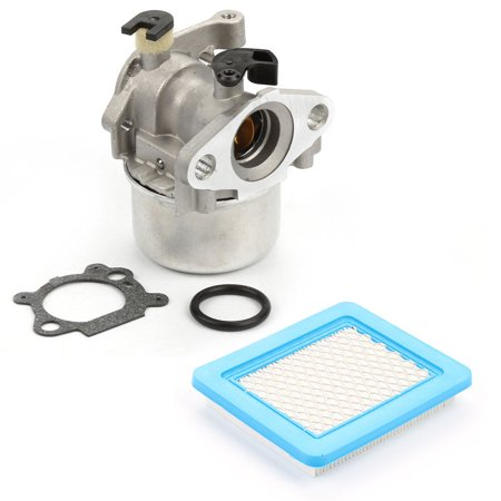 HIPA 799866 Carburetor with 491588 Air Filter For Briggs & Stratton Lawnmower 794304 796707 790845 799871 Craftsman Toro Carb Engine 4 Cycle Lawn