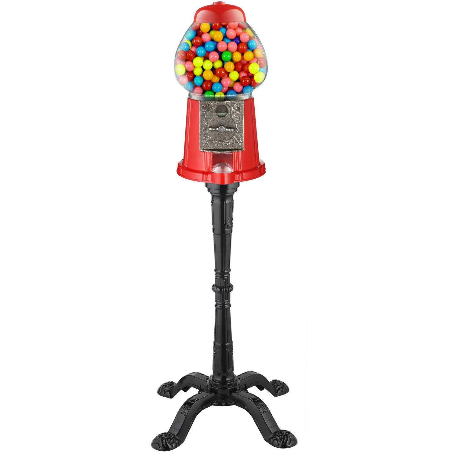 "Great Northern Popcorn 15"" Vintage Candy Gumball Machine Bank with Stand"
