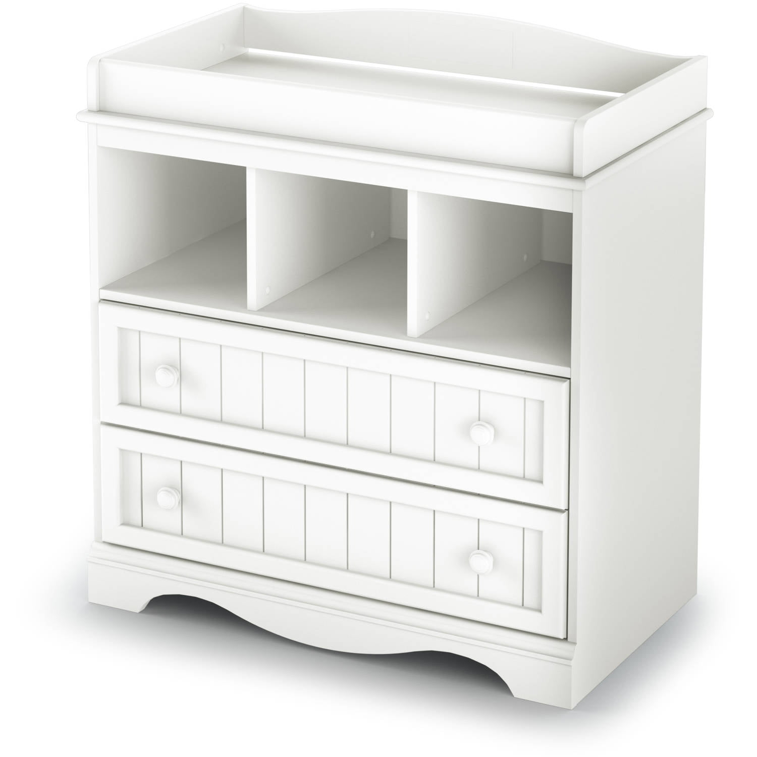 South Shore Savannah Changing Table with Drawers, Multiple Finishes by South Shore Furniture