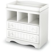 South Shore Savannah Changing Table with Drawers, White