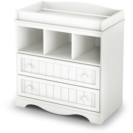 South Shore Savannah Changing Table with Drawers, Multiple - Angel Line Changing Table