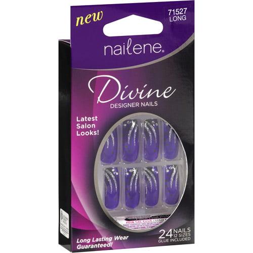 Nailene Divine Designer Nails, 24ct