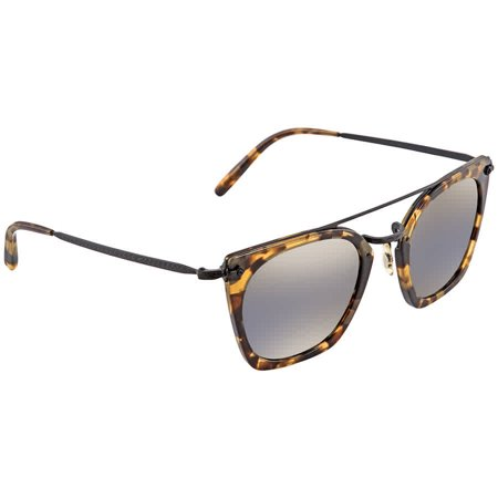 Oliver Peoples Dacette Graphite   Gold Mirror Square Ladies Sunglasses OV5370S 1550Y9 (S Oliver Sunglasses)