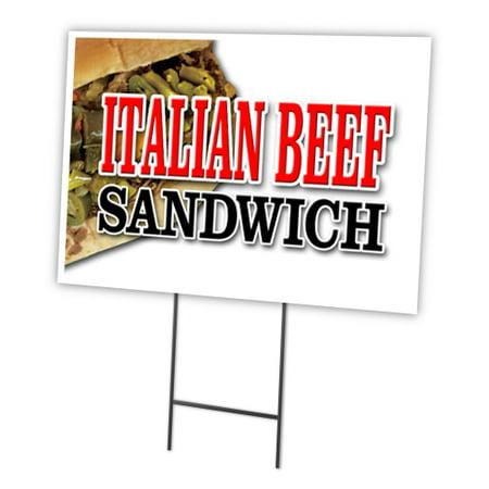 ITALIAN BEEF SANDWICH 12