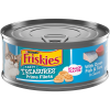 Friskies Pate Wet Cat Food, Tasty Treasures With Ocean Fish & Tuna and Scallop Flavor, 5.5 oz. Can