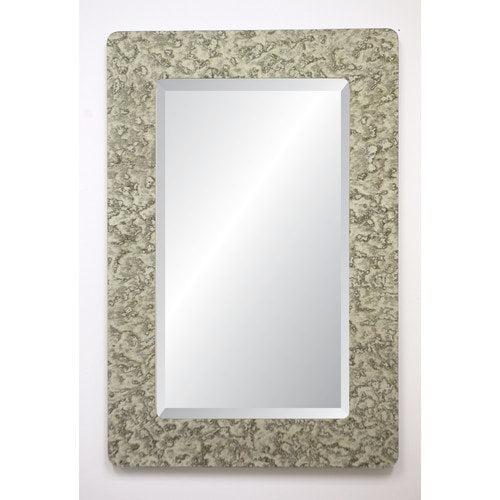 Spancraft Glass Dijon Collection Castleton Rectangular Wall Mirror