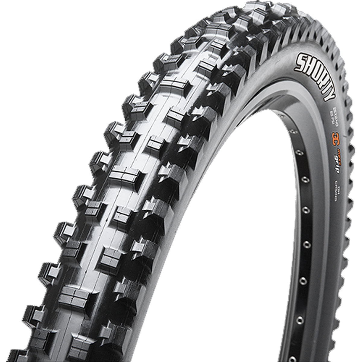 Maxxis Shorty Triple Compound Dual Ply Wire Bead Downhill Bicycle Tire