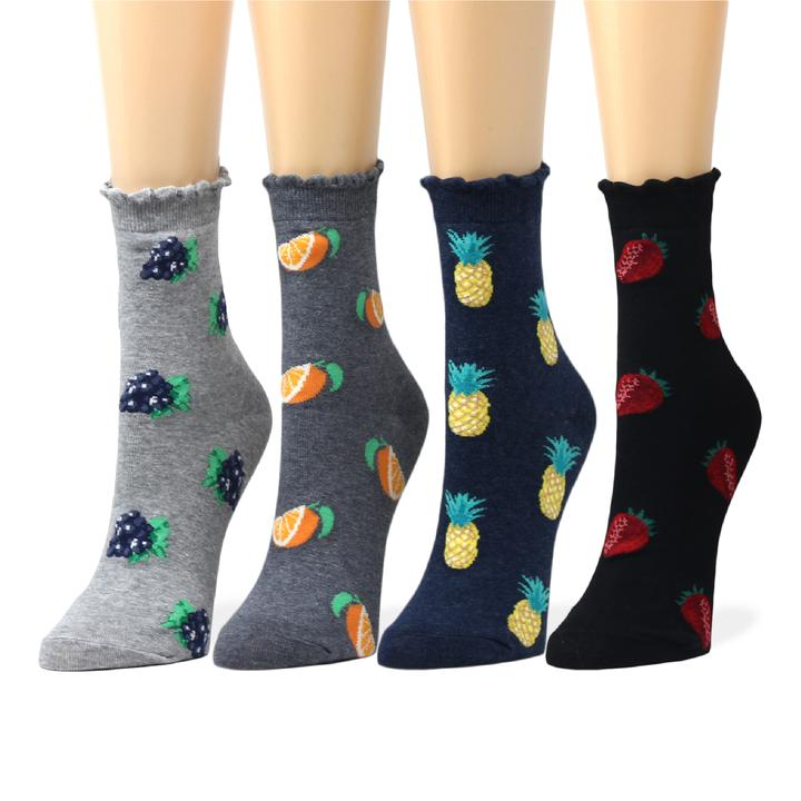 Womens 50 Full Print Stockings Cat In Beauty Sky Knee High Crew Socks