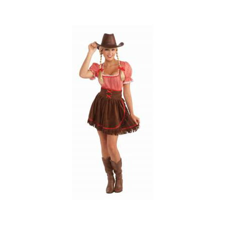 CO-COWPOKE CUTIE-STD - Cowgirl Boots Costume