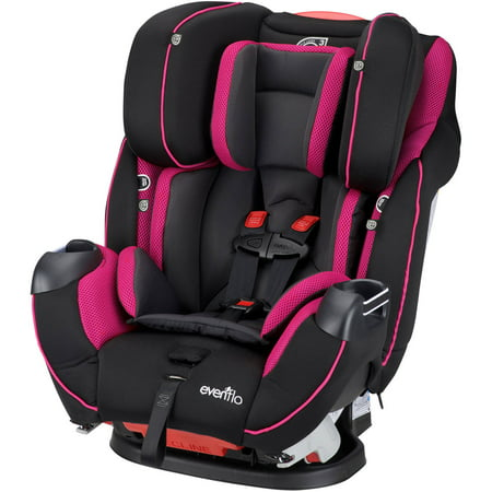 Evenflo Symphony DLX All-In-One Convertible Car Seat, Raspberry ...