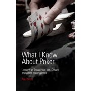 What I Know About Poker: Lessons in Texas Hold'em, Omaha, and Other Poker Games - eBook