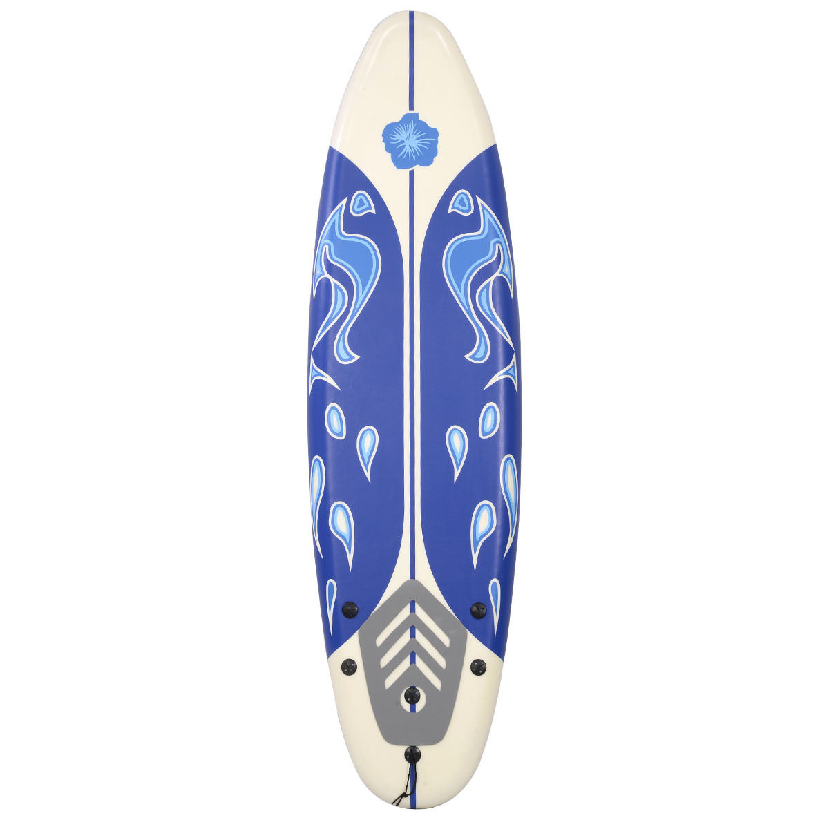 Costway 6' Surfboard Surf Foamie Boards Surfing Beach Ocean Body Boarding by Costway