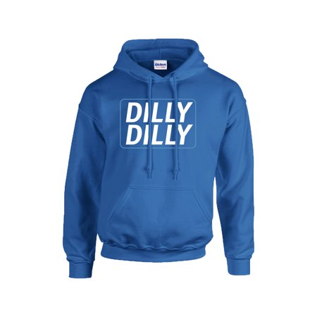 Funny Beer Drinking Dilly Dilly Adult Hooded Sweatshirt