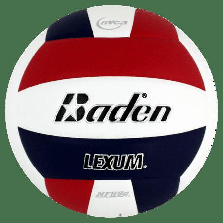 Baden Lexum Composite Volleyball-Red/Navy/White ()