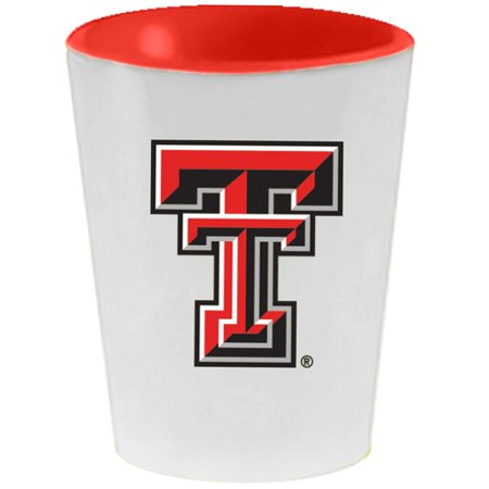 Texas Tech Red Raiders 2oz. Inner Color Ceramic Cup - No Size