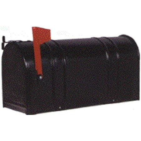 Part 1-1/2C-Blk Mailbox Black Rural, by Fulton Corp, Single Item, Great Value, - Mailbox Parts