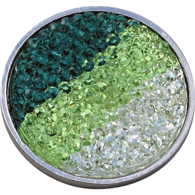 Crystal Hour Markers (ReadyGolf - Rhinestone Crystal Ball Marker - Green, Lime & White)