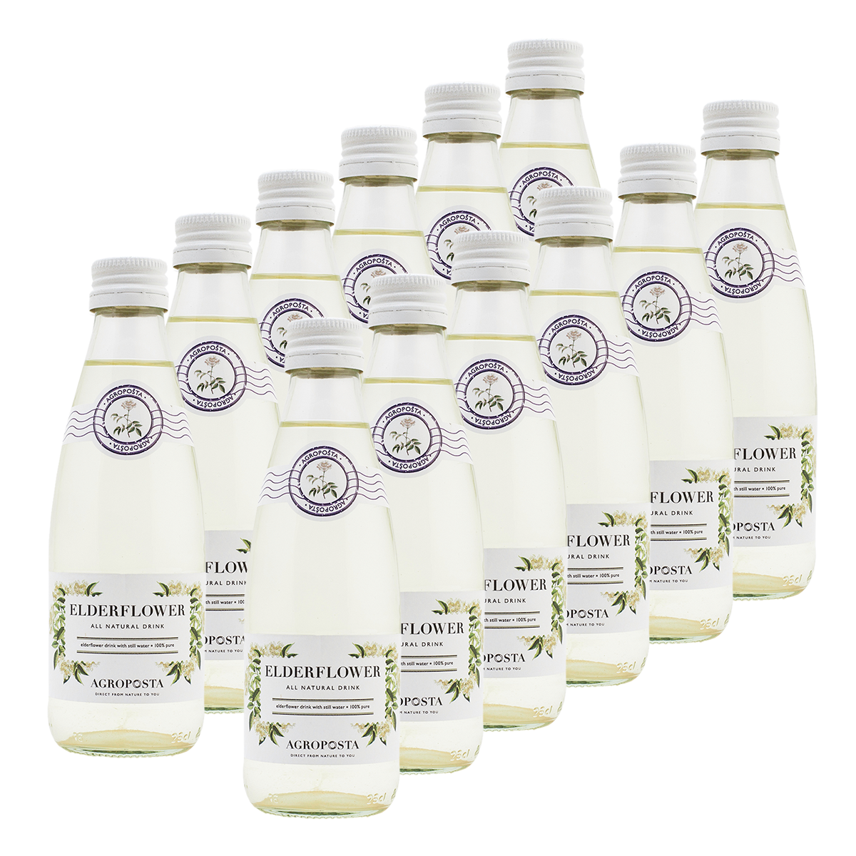 Image of AgropoÅ!ta: 100% Pure, All-Natural, Guilt-Free Drinks, Flavored Water, Elderflower