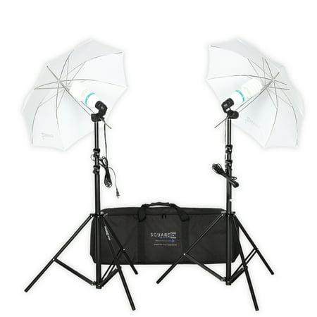 Premium Photo Studio - Square Perfect Professional Quality Premium Photo Studio Lighting Umbrella Stand Full Spectrum Lights