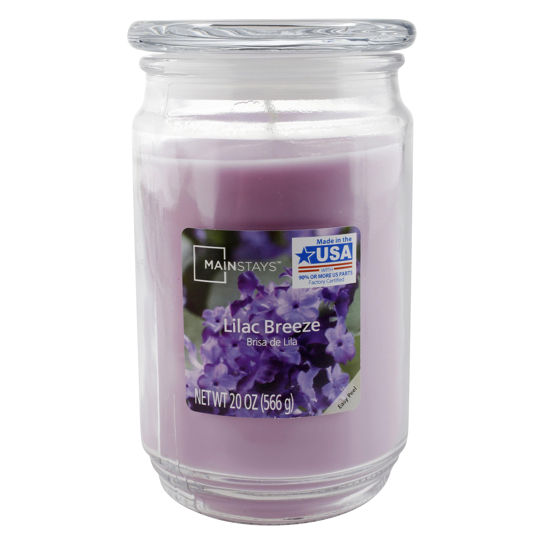 Mainstays 20 oz Candle, Lilac Breeze