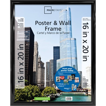 Black Wall Frame - Mainstays 16