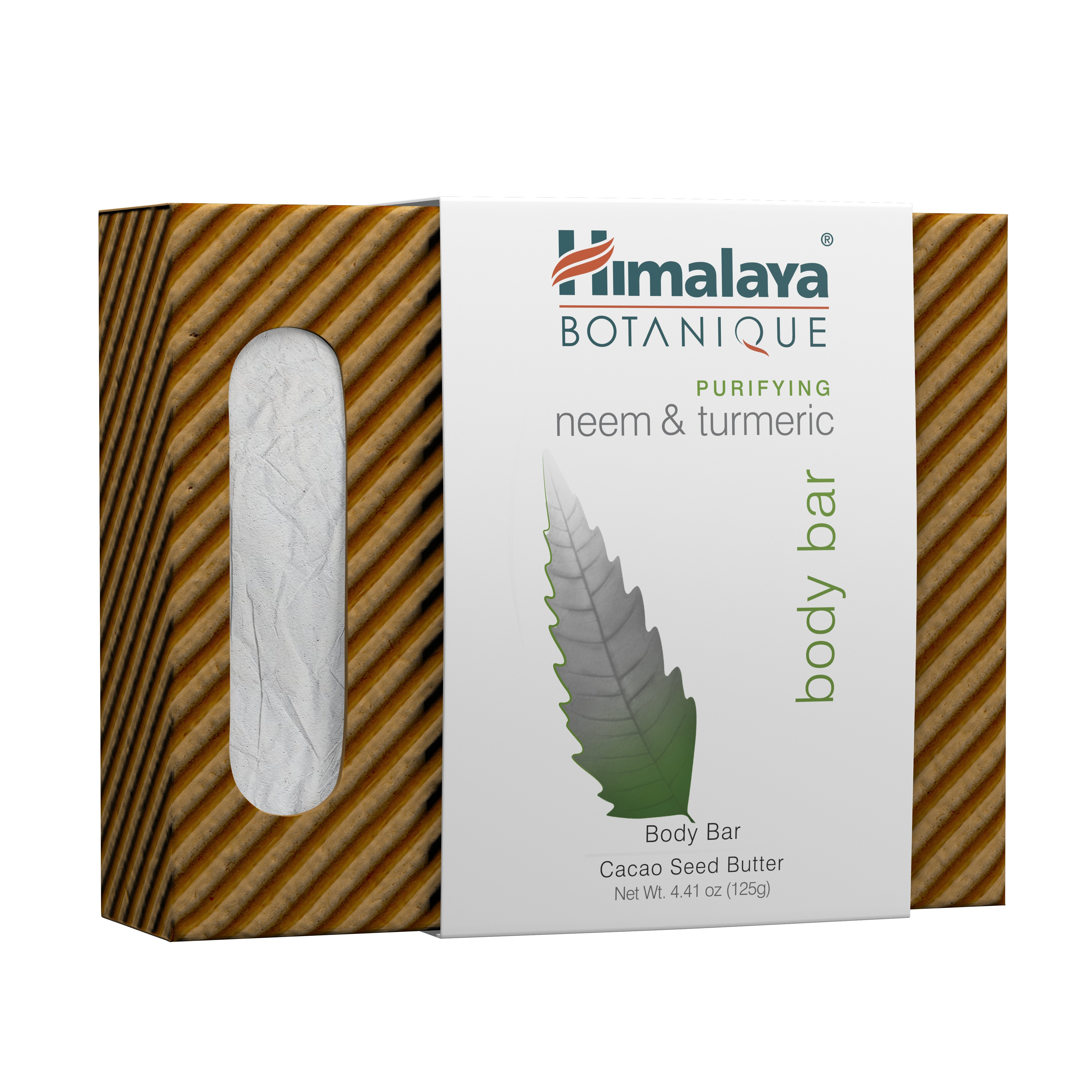Purifying Neem & Turmeric Soap Himalaya Herbals 4.41 oz Bar