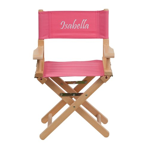 Harriet Bee Comerfo Embroidered Size Kids Directors Chair