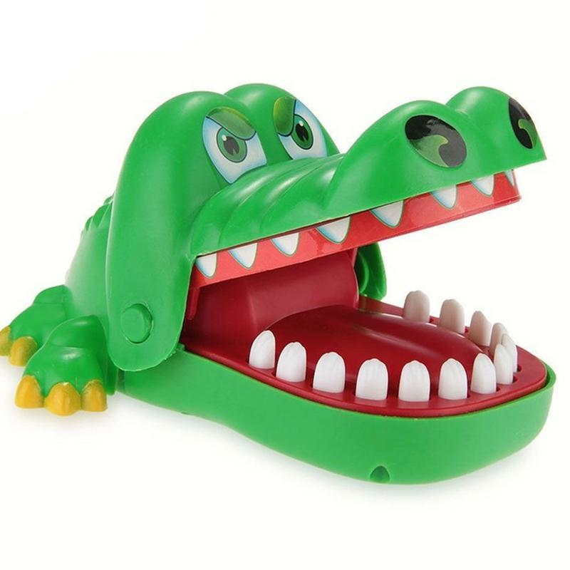 Crocodile Dentist ,Crocodile Biting Finger Game Funny Toy Gift Funny Toys For Kids, 1 To 4 Players, Ages 4 And Up