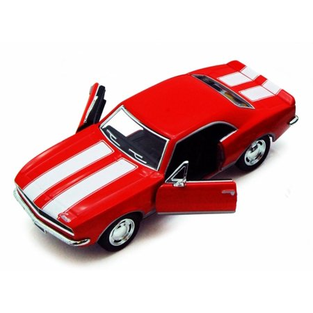 1967 Chevy Camaro Z/28, Red - Kinsmart 5341D - 1/37 scale Diecast Model Toy Car (Brand New, but NOT IN BOX)
